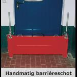 Stevige barriere ter veiligheid